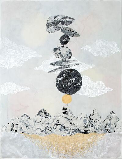 """Crystal Liu, 'a balancing act, """"stacked""""128', 2017"""