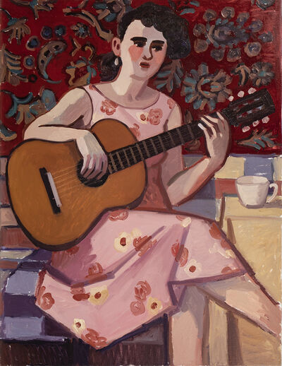 Zoya Cherkassky-Nnadi, 'Woman Playing Guitar', 2019