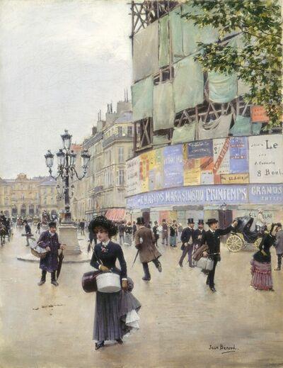 Jean Béraud, 'Paris, rue du Havre', ca. 1882