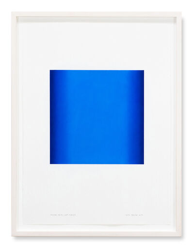 Ruth Pastine, 'Square, Blue Light Series', 2018