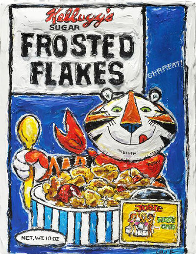 Leslie Lew, 'Frosted Flakes- They're GRRRREAT', 2012
