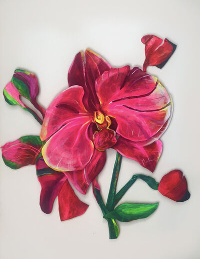 Muher, 'Orchid 3', 2019