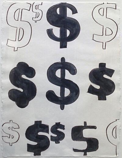 Andy Warhol, 'DOLLAR SIGNS', 1981