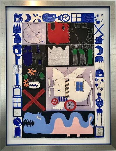 Christian Silvain, 'Zonder titel (I)', 1997