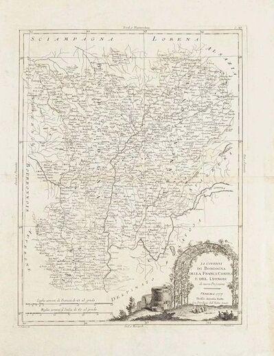 Antonio Zatta, 'Li Governi di Borgogna', 1777