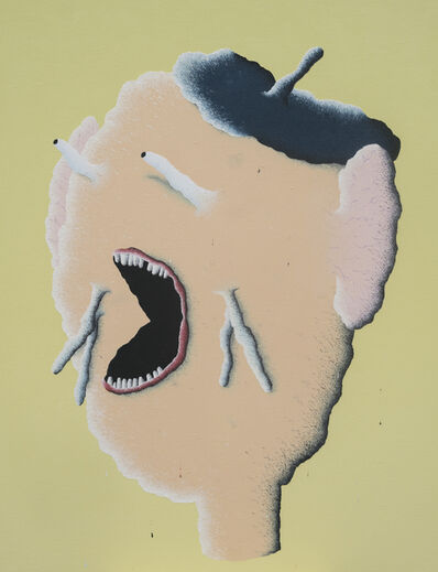 Joakim Ojanen, 'Beige Head Screaming', 2017