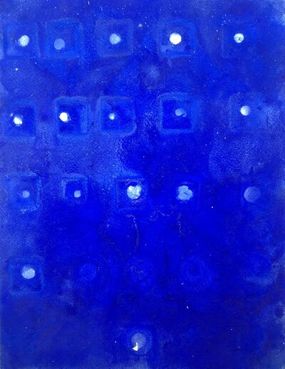 Ellen Hackl Fagan, 'Seeking the Sound of Cobalt Blue _ 21 Moons', 2016