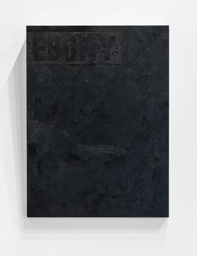 Jeremy Okai Davis, 'Ebony', 2017