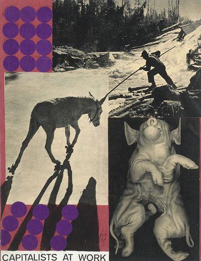 Erró, 'Capitalists At Work (Série Paris)', 1959
