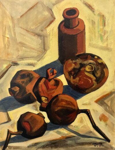 Peter Clarke, 'Still life of pomegranates '
