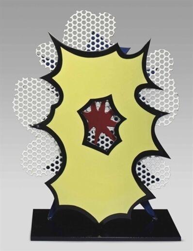 Roy Lichtenstein, 'Desk Explosion'