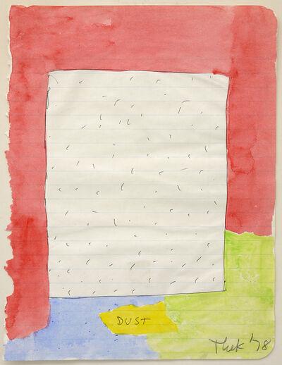 Paul Thek, 'Dust', 1978