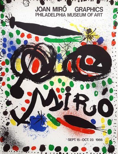 Joan Miró, 'Graphics: Philadelphia Museum of Art', 1966