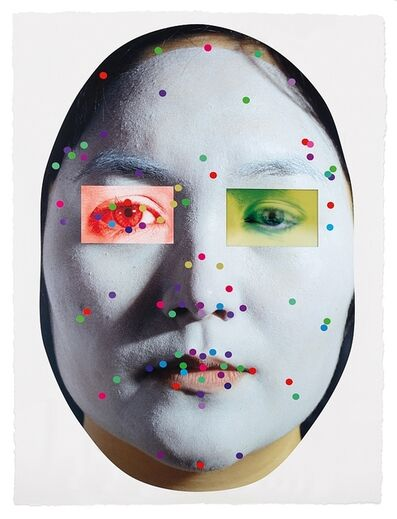 Tony Oursler, 'Recognition (image 5-1.3)', 2020