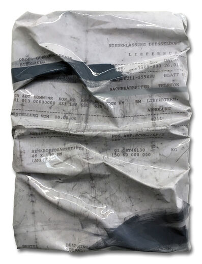 Caro Jost, 'Invoice Painting G.U. 26. Januar 1996', 2017