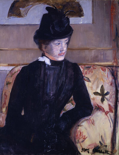 Mary Cassatt, 'Portrait of Madame J', 1883