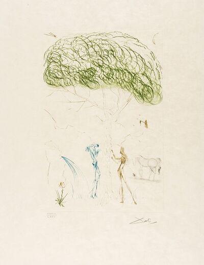 Salvador Dalí, 'Sous le Pin Parasol (Field 70-10I; M&L 414a)', 1970
