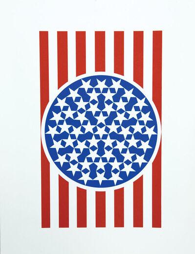 Robert Indiana, 'New Glory Banner 1', 1997