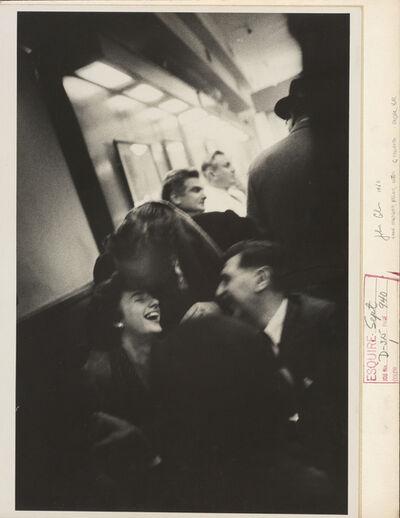 John Cohen, 'Grace Hartigan, Kaldis, Cotten, G. Spaventa, Cadar Bar', 1960