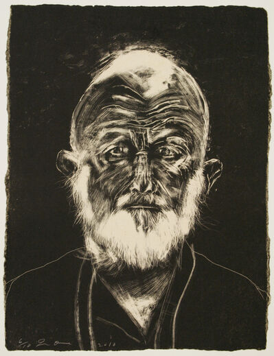 Jim Dine, 'White Beard', 2010