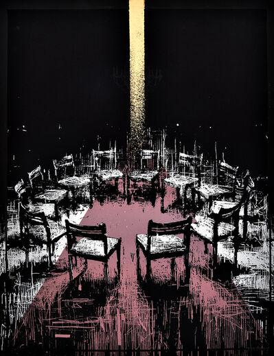 Borondo, 'Coïncidence (Gold Version)', 2017