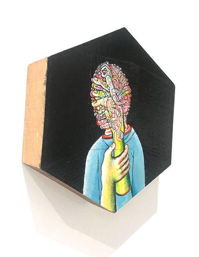 Andrew Abbott, 'Distorted Self Portrait', 2018