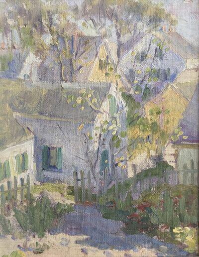 Edith Lake Wilkinson, 'Provicetown Rooftops', ca. 1916
