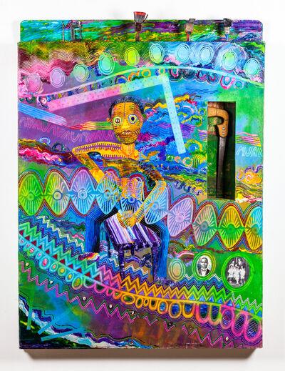 Wadsworth Jarrell, 'Steel Square', 1995