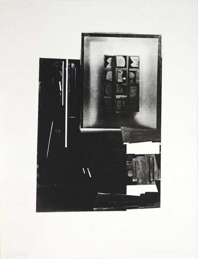 Louise Nevelson, 'Dark song', 1966