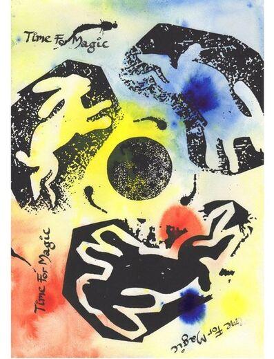 Jamie Reid, 'Lunar Hare', 2015