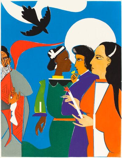 Romare Bearden, 'SUNDAY MORNING AT AVILA', 1982