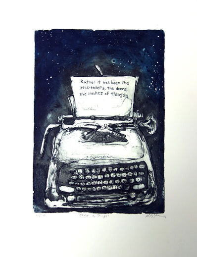 Sam Messer, 'Maker of Things', 2012