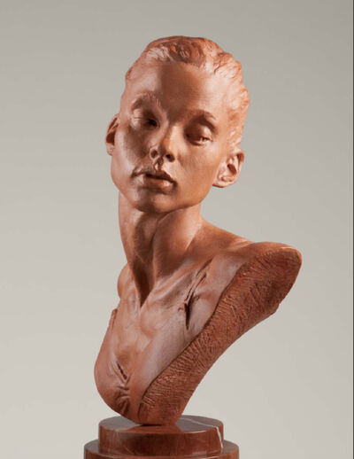Richard MacDonald, 'Katherine Bust, Terracotta', 2011