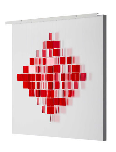Julio Le Parc, 'Mobile Losange Rouge ', 2017