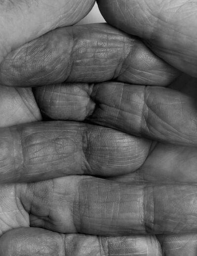 John Coplans, 'Interlocking Fingers, No 1', 1999