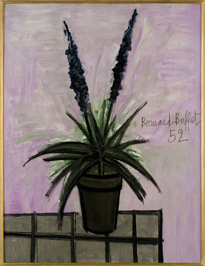 Bernard Buffet, 'Pot de jacinthes', 1952