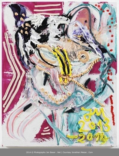 """Jonathan Meese, '""""MAMA"""" HAPPA-ZOFF-KROKODILLSN IN BRIGHTON """"FUTON"""" MI ON, FUTTERN.', 2013-2014"""