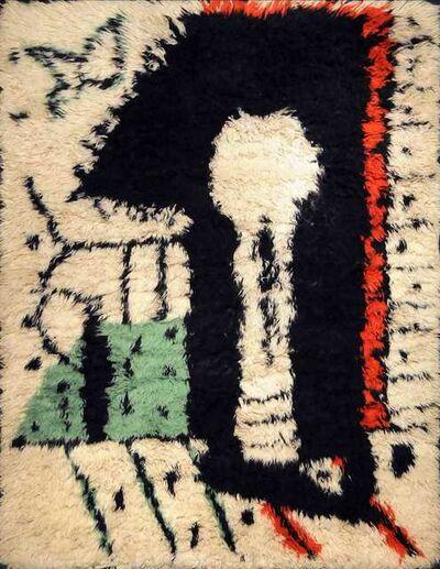 """Pablo Picasso, 'Rare Rug Designed by Pablo Picasso, """"La Serrure,"""" circa 1955', 1955"""