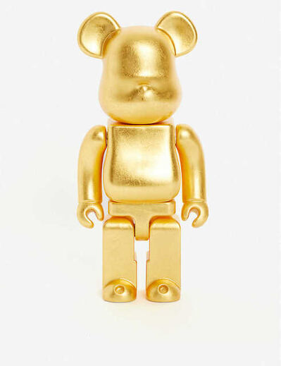 BE@RBRICK, 'BE@RBRICK HIRA OSHI PURE GOLD LEAF KUTANI 400%', 2018