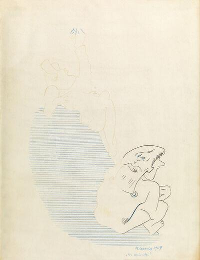 Maria Lassnig, 'Les arrivistes', 1967