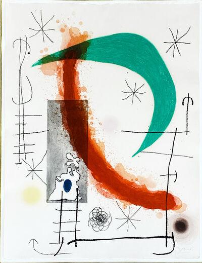 Joan Miró, 'L' Escalade', 1969