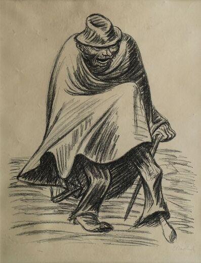 Ernst Barlach, 'Vergnügtes Einbein II & Fluch from Die Ausgestoßenen (The Outcasts)', 1922