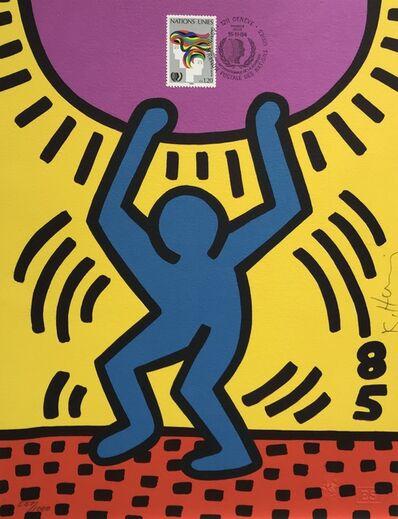 Keith Haring, 'International Youth Year', 1985