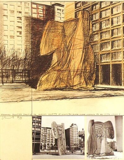 Javacheff Christo, 'Wrapped sylvette', 1973