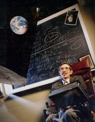 David Gamble, 'Stephen Hawking', 1987
