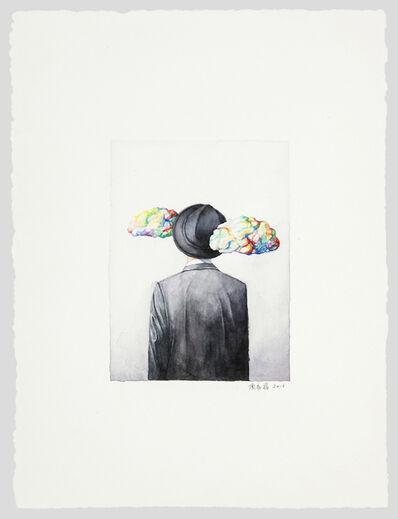 Shang Chengxiang 商成祥, 'Magritte's Cloud 玛格丽特的云', 2016