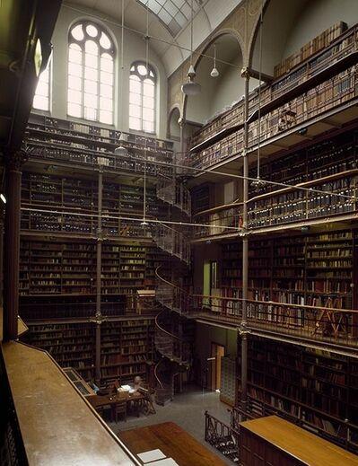 Massimo Listri, 'Rijksmuseum Library, Amsterdam, The Netherlands | World Libraries', 1994
