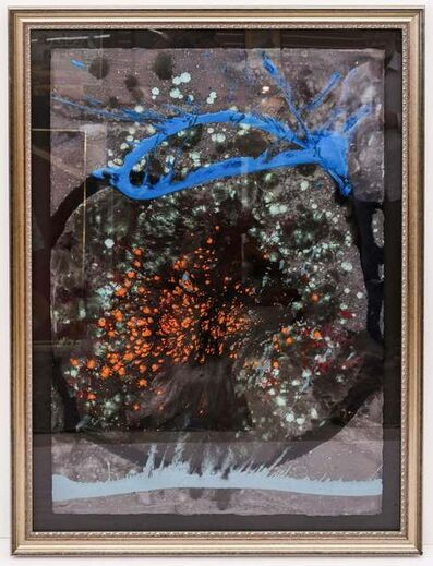 Dale Chihuly, 'Dale Chihuly Macchia Basket Drawing Acrylic Painting Signed Contemporary Art 18k Appraisal', 1990-2010