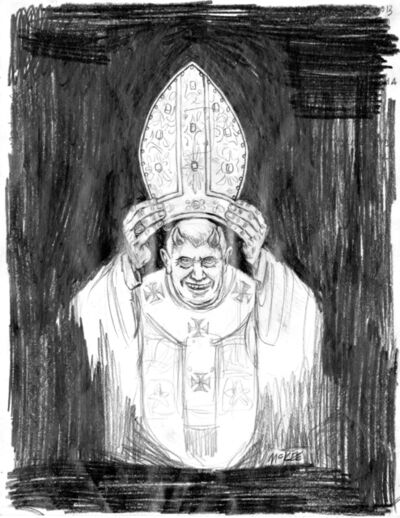 Marc Mckee, 'Devil Pope', 2011