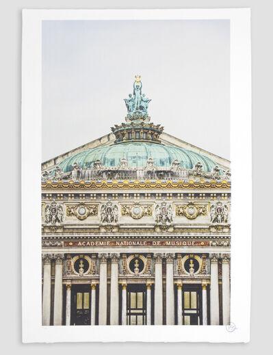 JR, 'Ballet, Regard Surplombant la Facade due Palais Garnier, Opéra de Paris, France 2014 *', 2018